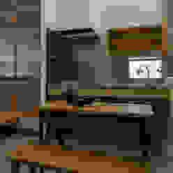 小野育代建築設計事務所 Cocinas de estilo ecléctico