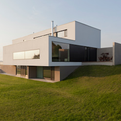 Wohnhaus P. - Oberösterreich Moderne Häuser von Frohring Ablinger Architekten Modern