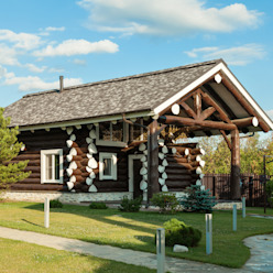 Casas de estilo  por Smart Wood
