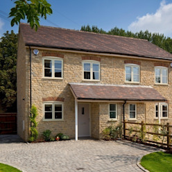 Cotswold Cottage Country style houses by Emma & Eve Interior Design Ltd Country