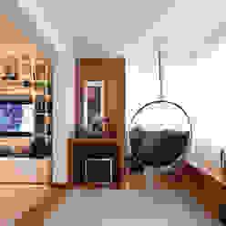 Living Casa 2 Arquitetos Salas de jantar modernas