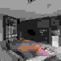 Tuin-Lounge Moderne woonkamers van Medie Interieurarchitectuur Modern