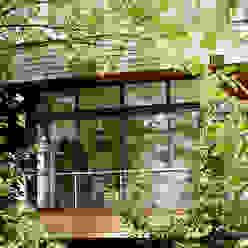 EXTENSION MAISON M33 Cendrine Deville Jacquot, Architecte DPLG, A²B2D Maisons modernes
