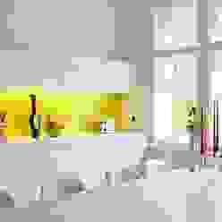 Küche in der Trendfarbe Gelb Moderne Küchen von trend group Modern