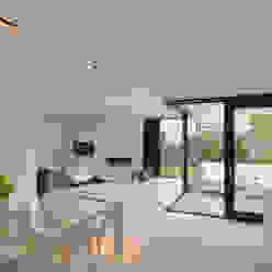 K&N 10 Moderne woonkamers van CKX architecten Modern