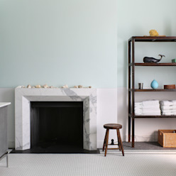 Notting Hill home Alex Maguire Photography Minimalistische Badezimmer
