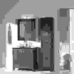 Badmöbel im Landhausstil aus französischer Eiche Badezimmer im Landhausstil von F&F Floor and Furniture Landhaus