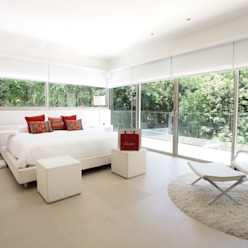 Modern Yatak Odası Enrique Cabrera Arquitecto Modern