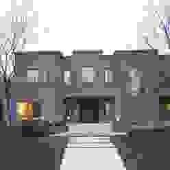 Fachada Casas modernas: Ideas, imágenes y decoración de Francisco Marconi & Arquitectos Asociados Moderno
