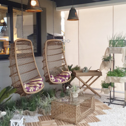 Ésse Arquitetura e Interiores Tropical style garden