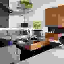 Casa GM GLR Arquitectos Salones modernos