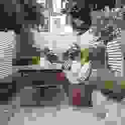 Slim & Subtle Rear Garden Jardines de estilo moderno de homify Moderno