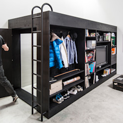 Urban Cube Till Könneker WohnzimmerAufbewahrung