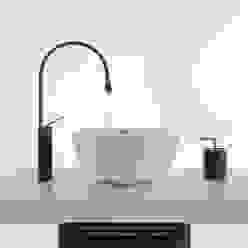 virtual set gessi lavabo + miscelatore goccia studioviro BagnoLavabi