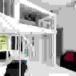 APPARTAMENTO A MILANO Camera da letto moderna di ARCHITETTO MARIANTONIETTA CANEPA Moderno