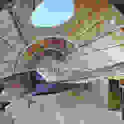 Internal Live/Work Space PAD studio Livings modernos: Ideas, imágenes y decoración