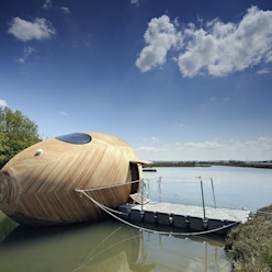 The Exbury Egg in Location PAD studio Casas modernas: Ideas, imágenes y decoración