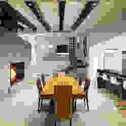 Comedor y Escaleras Comedores modernos de Juan Luis Fernández Arquitecto Moderno