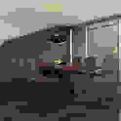 Desarrollo de Interiorísmo Comedores modernos de LA RORA Interiorismo & Arquitectura Moderno