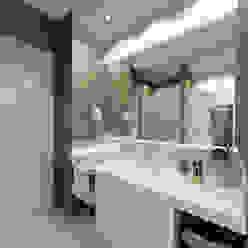 Авеню 77-11 Ванная комната в эклектичном стиле от ООО 'Студио-ТА' Эклектичный