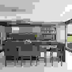 Cocina Estudio Meraki Cocinas modernas Acabado en madera