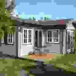 L. Shaped garden office Garten im Landhausstil von Garden Affairs Ltd Landhaus