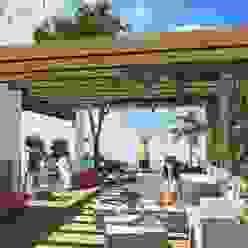 Roof Garden Milla Arquitectos S.A. de C.V. Balcones y terrazas minimalistas