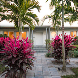 Elías Arquitectura 庭院