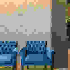 Residência A & F Minimalistyczny salon od Lyssandro Silveira Minimalistyczny