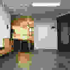 트랜디한 아파트인테리어(거실) 미루디자인 모던스타일 거실