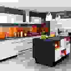 Modèles de cuisines Atelier Cuisine Cuisine moderne Blanc