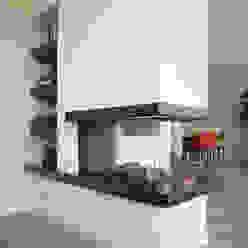 gashaard Moderne woonkamers van Egbert Duijn architect+ Modern