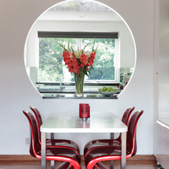 Chiswick Quay Modern dining room by Rousseau Modern