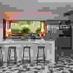 Cocinas de estilo moderno de Vida de Vila Moderno Cerámico