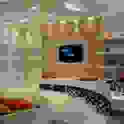Mostra Casa Nova 2008 ANNA MAYA ARQUITETURA E ARTE Quarto infantil moderno Têxtil Branco