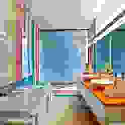 Kids Bathroom Viterbo Interior design Casas de banho ecléticas