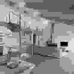 Woonhuis Oostkapelle Moderne woonkamers van adsmeuldersarchitect Modern