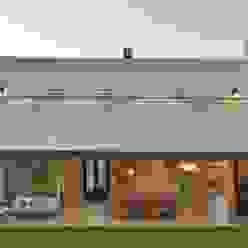 fachada contrafrente Casas clásicas de Parrado Arquitectura Clásico
