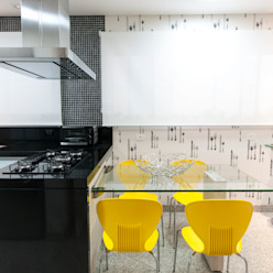 Residência Central Park - São Bernardo do Campo Cozinhas ecléticas por Haus Brasil Arquitetura e Interiores Eclético