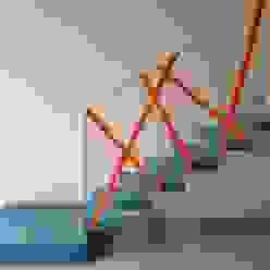 Couloir, entrée, escaliers modernes par espunydesign Moderne