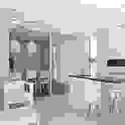 Casa C Puerto Roldan Jardines de invierno modernos de VISMARACORSI ARQUITECTOS Moderno