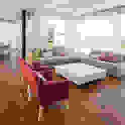 Casa C Puerto Roldan Livings modernos: Ideas, imágenes y decoración de VISMARACORSI ARQUITECTOS Moderno