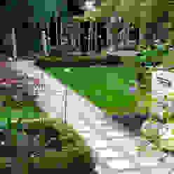 Japanese style planting Earth Designs Modern garden