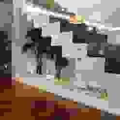 Projeto Corredores, halls e escadas clássicos por Grupo HC Clássico