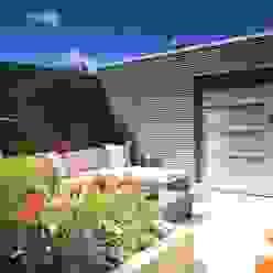 Modern Garden Shed Moderne Garagen & Schuppen von Garden Affairs Ltd Modern Holz Holznachbildung