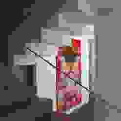 house r_p Soggiorno moderno di Federico Pisani Architetto Moderno