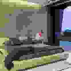 Kloof Road House Moderne Schlafzimmer von Nico Van Der Meulen Architects Modern