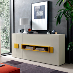 'Amode' tall chest/cupboard by Orme de My Italian Living Moderno Tablero DM