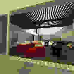 Modern balcony, veranda & terrace by fc3arquitectura Modern