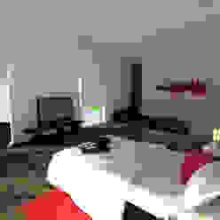 Recamara Dormitorios modernos de fc3arquitectura Moderno